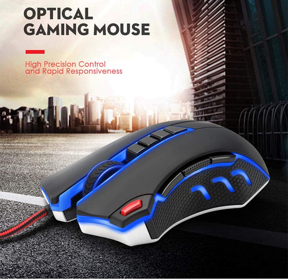 Gaming Wired Mouse Aggravated Macro Programming Mouse Esports Game EASON Mouse