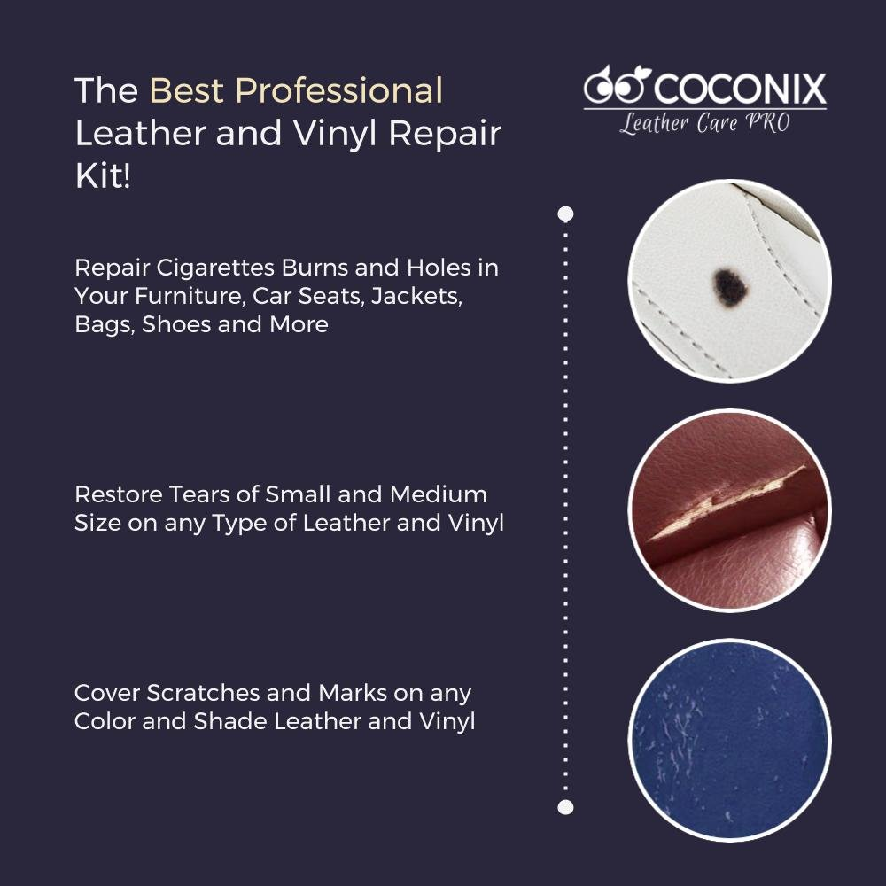 Coconix Upholstery Vinyl And Leather Repair Kit