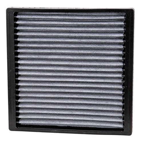 K&N VF2005 Washable & Reusable Cabin Air Filter Cleans and Freshens Incoming Air for your Toyota, Pontiac, Subaru