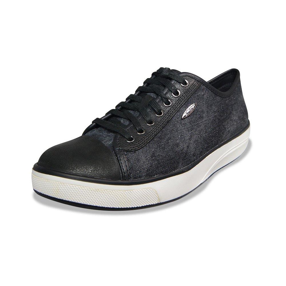 MBT Women's Jambo (LE) Athletic Walking Shoe (40 EU / 9-9.5 M US, Black Stone Washed Denim)