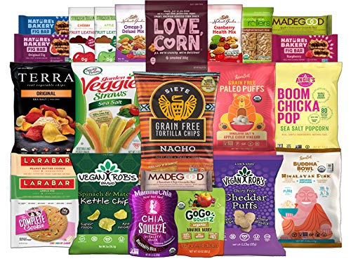 Healthy Vegan Snack Assortment Package