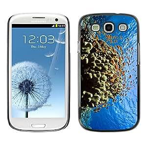 SHIMIN CAO- Dise?o Caso duro de la cubierta Shell protector FOR Samsung Galaxy S3 I9300 I9308 I737- Fish Water Pattern Colorful