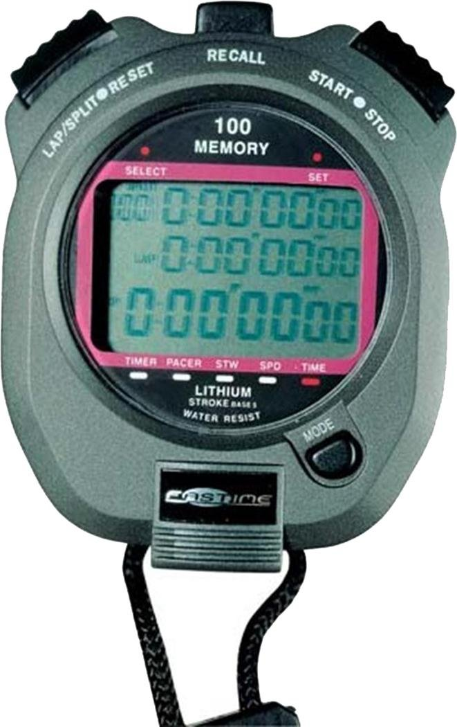 Fastime 7 Chronograph Countdown Timer Counter 100 Lap Memory Sports Stopwatch by Fastime