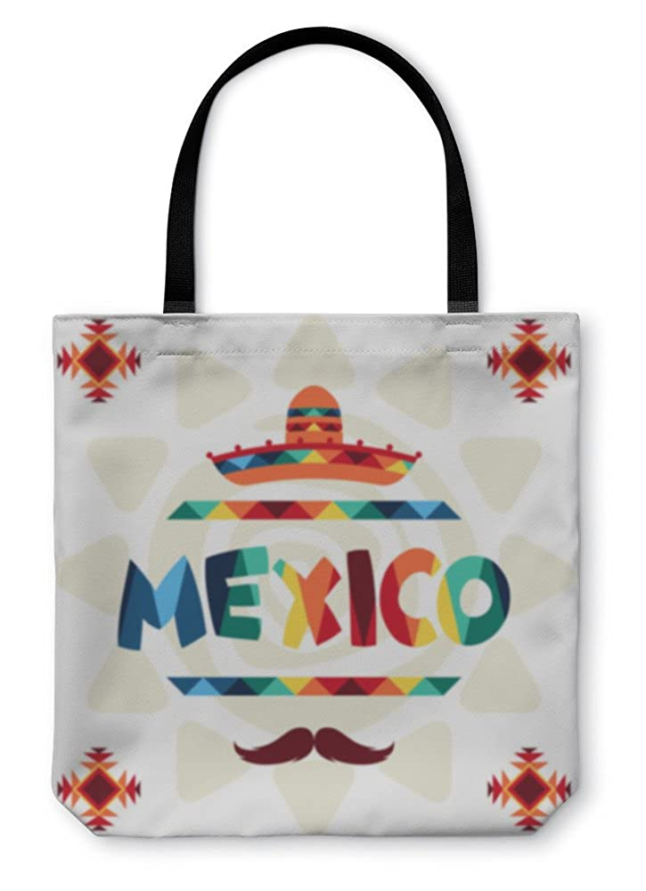 Ethnic Mexican Design In Native Style 35532GN Gear New Shoulder Tote Hand Bag