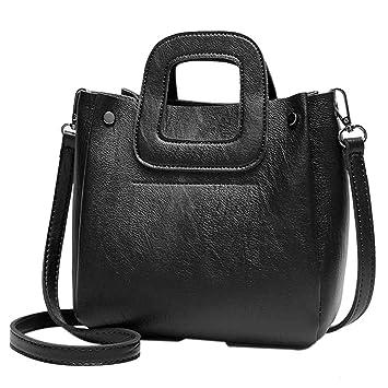a74febcc3e6b Amazon.com: Snowfoller Bucket Bag for Women Tote Handbag Casual ...