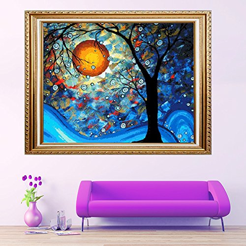 Faraway Van Gogh Dream Tree Diy Full diamond painting 5D emb