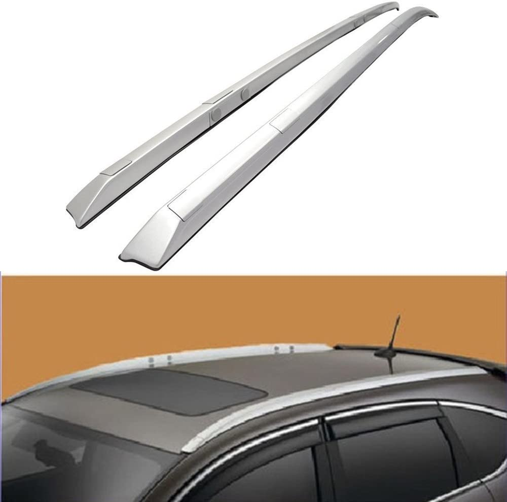 For 12-16 Honda CR-V Sliver Roof Rails Rack Luggage Carrier Cargo SUV Cross Bars