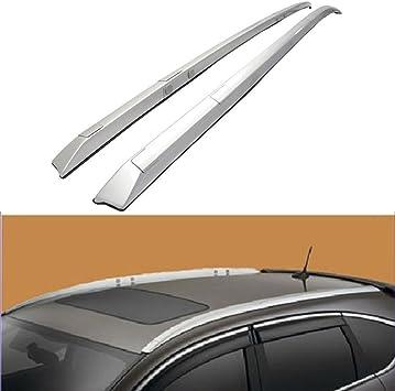 For 2017-2019 Honda CRV Roof Rack Side Rails Fit OE Style Bars Silver Mount Bolt