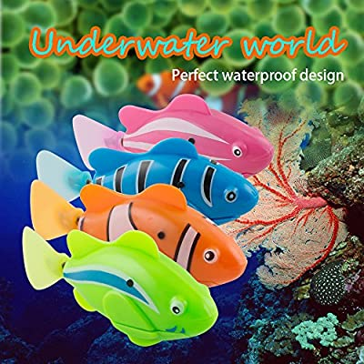 Careshine Swimming Robot Fish Activated in Water Magical Electronic Toy Kids Children Gift