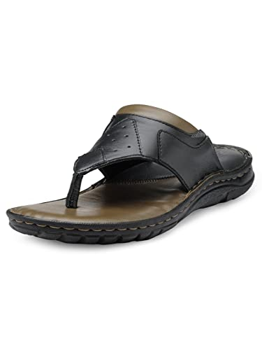 Teakwood Men's Leather Outdoor Slippers & Sandals Footwear: Buy Online at  Low Prices in India - Amazon.in