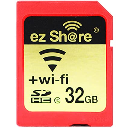 ez Share 8GB 16GB 32 GB Or Adapter WiFi SDHC card Class10 SD card Wireless camera memory card for Camera Cannon SAMSUNG SONY FUJIFILM CASIO Nikon ...