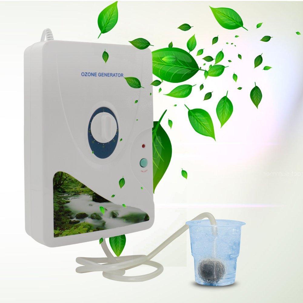 600mg//h Ozone Generator Ansbell Generatore di Ozono per la rimozione odori ozonizzato acqua purificatori daria Ozonizzatore per Frutta,Verdura,Alimentari sterilizzatore purificatore daria