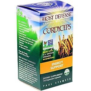 Host Defense - Cordyceps Capsules, Energy Support, 120 count (FFP)