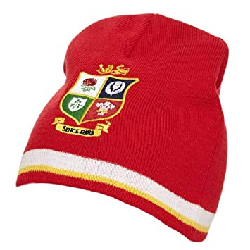 0527ef993a1 Lions Rugby Supporter Beanie  Amazon.co.uk  Sports   Outdoors