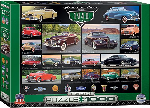 EuroGraphics 1940's Cruisin' Classics Jigsaw Puzzle