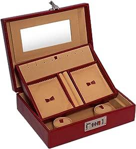 Laveri Jewelry Box, Red