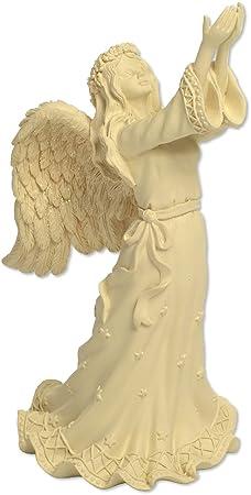 Angelstar Angel Keepsake Figurine, 8-3 4-Inch, Includes 4 Cubic Inch Space for Keepsakes 46857