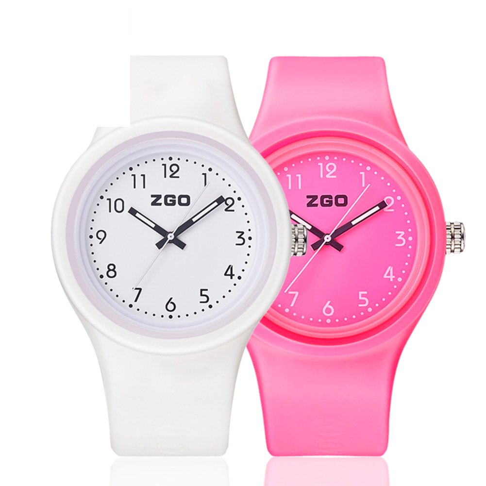 Luminous waterproof watch/Korean version of the simple matching watches-J