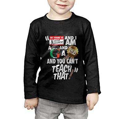 77740103709f3 Amazon.com: MY NAME IS ENZO AMORE Long Sleeve T Shirts For Boys ...