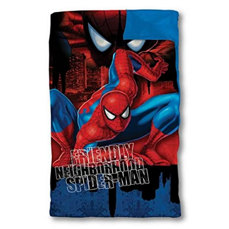 Ultimate Spider-Man saco de dormir dormir Marvel acogedor Spiderman