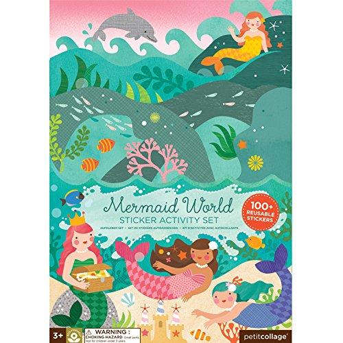 Petit Collage Sticker Activity Set, Mermaid World