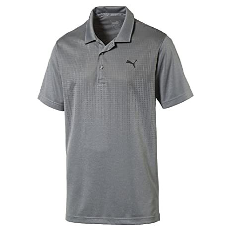 ba1fd92c Buy Puma Golf Mens Jacquard Drip Polo, M Online at Low Prices in India -  Amazon.in