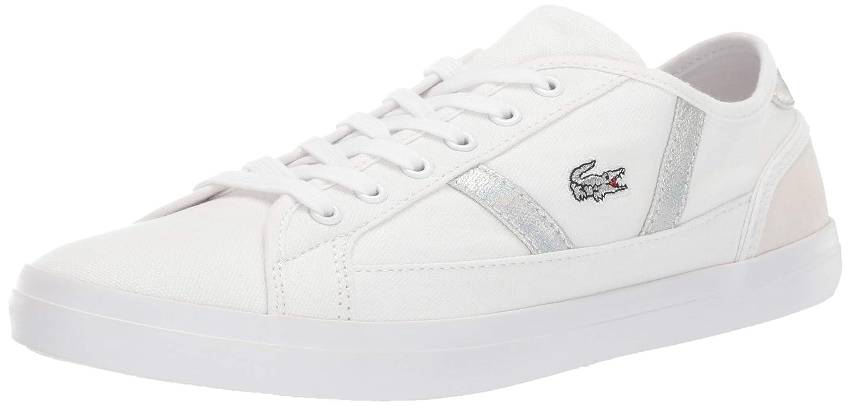 White White Lacoste Womens Sideline Sneaker