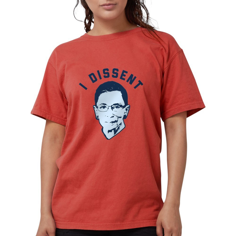 deef724b23e4 Amazon.com: CafePress - Ruth Bader Ginsburg I Dissen T-Shirt - Womens  Comfort Colors Shirt: Clothing