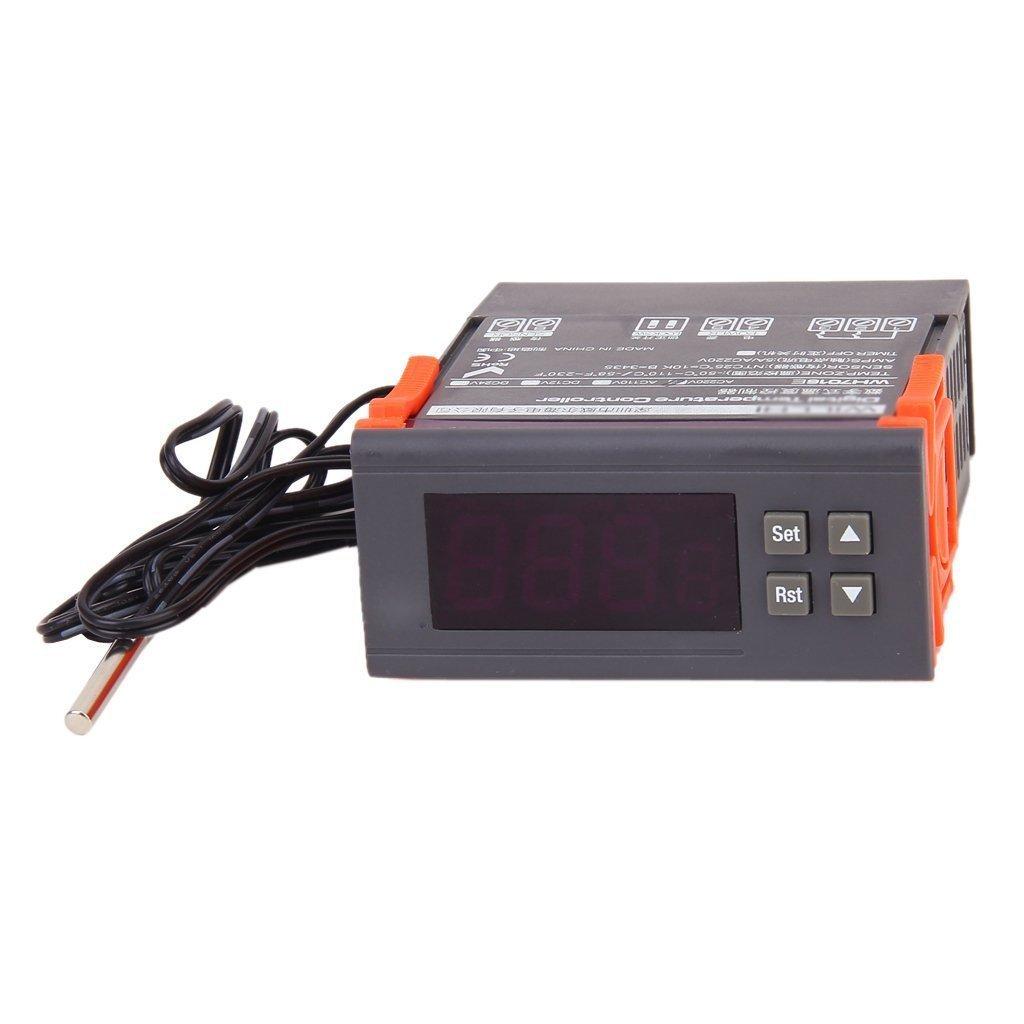 Digital Temperature Controller Thermostat Wh7016e Diy Stc1000 Reef Aquatics Online Aquarium Store Tools