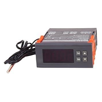 WH7016E Controlador Digital De Temperatura Del Termostato: Amazon.es: Amazon.es