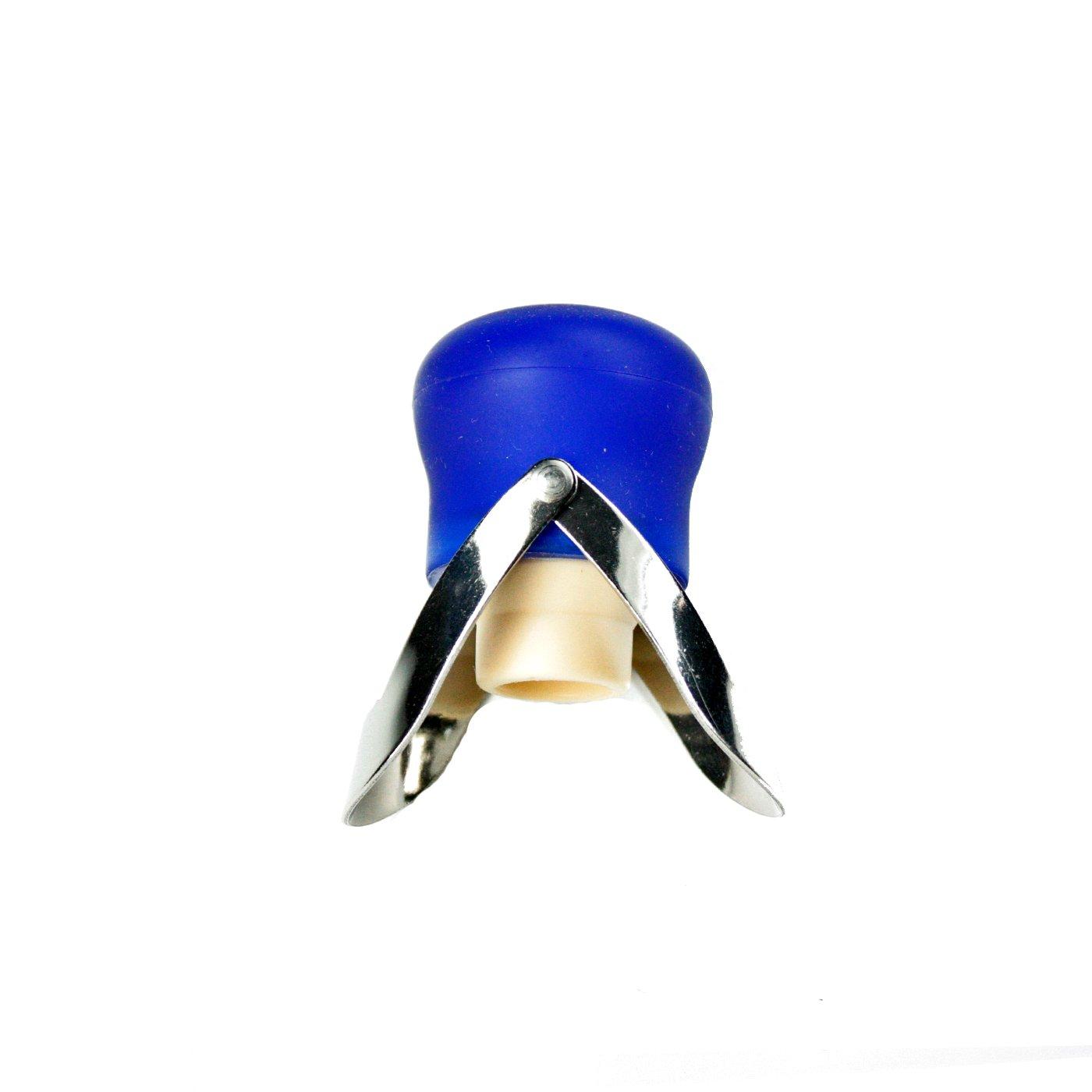 SCIP 1000 BO/125 Bouchon de Champagne Plastique Bleu 11 x 5 x 3, 5 cm 1000 BO / 125