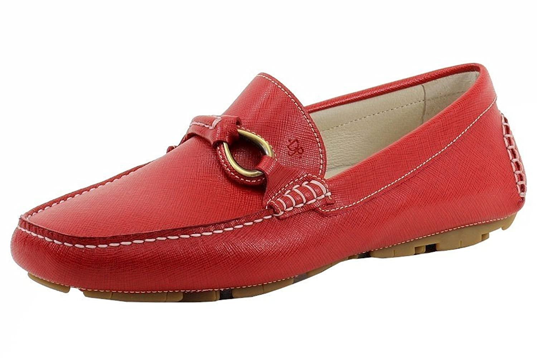 Durable Service Donald J Pliner Menu0026#39;s Herb-ZK Slip-On Red Leather Loafers Shoes - Bsat109.org