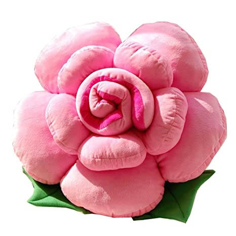 a-goo suave Lovely Novelty Colorfull rosa flor forma cama ...