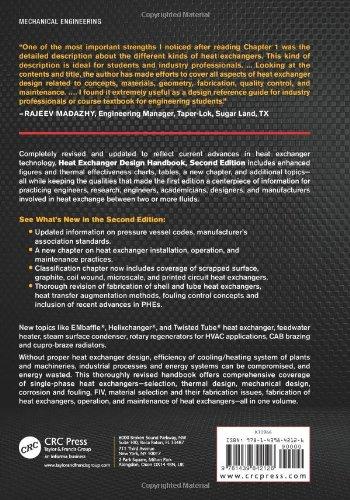 Review Heat Exchanger Design Handbook,