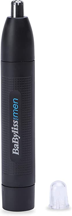 BaByliss MEN E652E Cortapelos para nariz, orejas y cejas, sistema ...