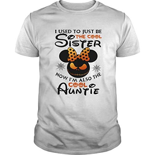 I Used to Just Be The Cool Sister Now Im Also The Cool Auntie Unisex Hoodie