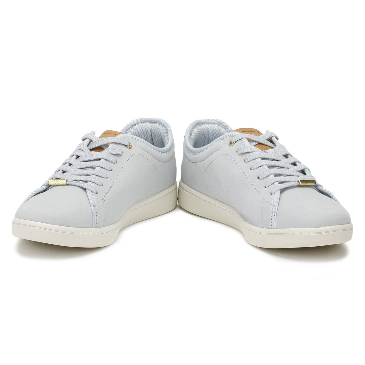 Lacoste Blau Carnaby Evo Damen Sneaker Blau Blau Lacoste cf179c