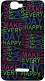 Zeztee Printed Soft TPU Mobile Back Cover for Micromax Canvas Colours A120 ZT3317