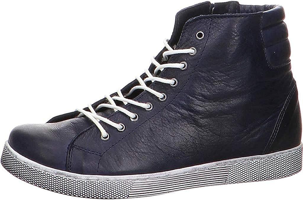 Andrea Conti Damen 0347843 Hohe Sneaker Blau Dunkelblau 017