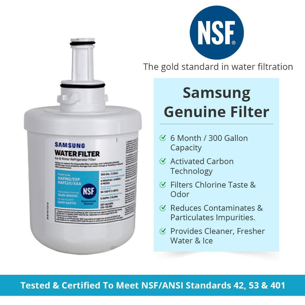Samsung DA29-00003G HAF-CU1-2P/XAA Refrigerator Water Filter (1 Pack)