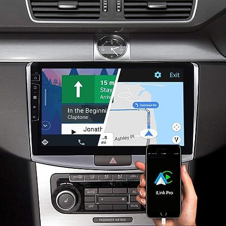 Dynavin DX-V-2S Pro 10.1 Pulgadas Autoradio Navi GPS Navegación: Apoyo De DAB+ Radio Digital Ios Android Coche BT Cámara Marcha Atrás Ready USB Para VW B7: Amazon.es: Electrónica