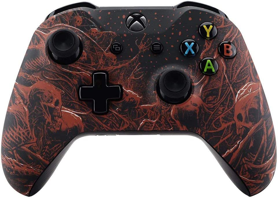 Purgatory UN-MODDED Custom Controller Compatible with Xbox One S/X Unique Design (with 3.5 Jack)