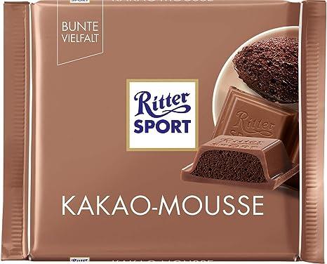 Ritter Sport 100 g Cacao Pizarra Mousse de chocolate, 11er Pack ...