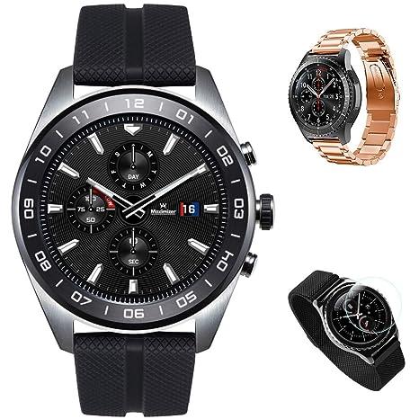 Amazon.com: LG Watch W7 Stainless Steel Classic Design Smart ...