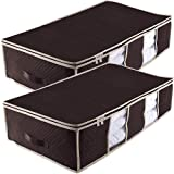 Underbed Storage Bag Containers,Breathable