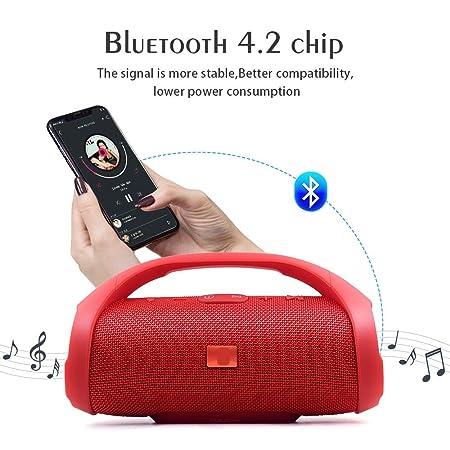 VEERJI Boom Box Bluetooth Speaker Most Powerful Portable Speaker Boomboxes