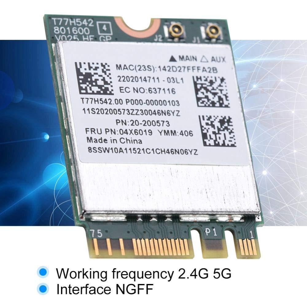 Amazon.com: Aufee NGFF WiFi Card, Dual Band 2.4G/5G 433Mpbs ...
