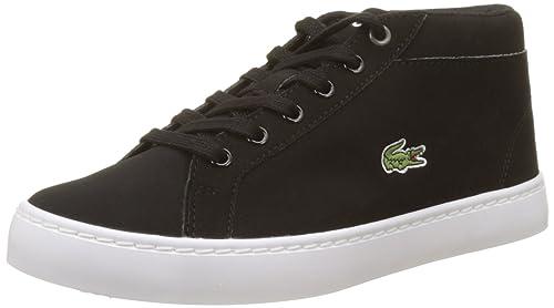 Lacoste Straightset Chukka 417 1 CAJ, Zapatillas Altas Unisex para Niños: Amazon.es: Zapatos y complementos
