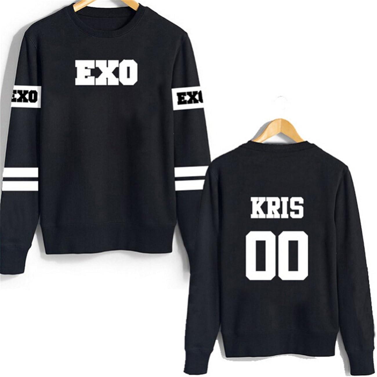 Korean POP EXO mon garçon est T-shirt sehun T-Shirt Kris Chanyeol baekhyun Coton Unisexe Tee