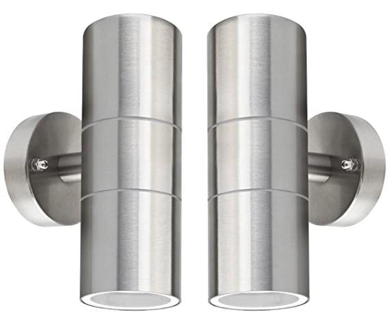Modern GU10 Up Down Yard LED External Wall Light Indoor Double 240V Porch IP44
